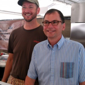 Rogue's Cary Bryant and David Gremmels at Bra Cheese