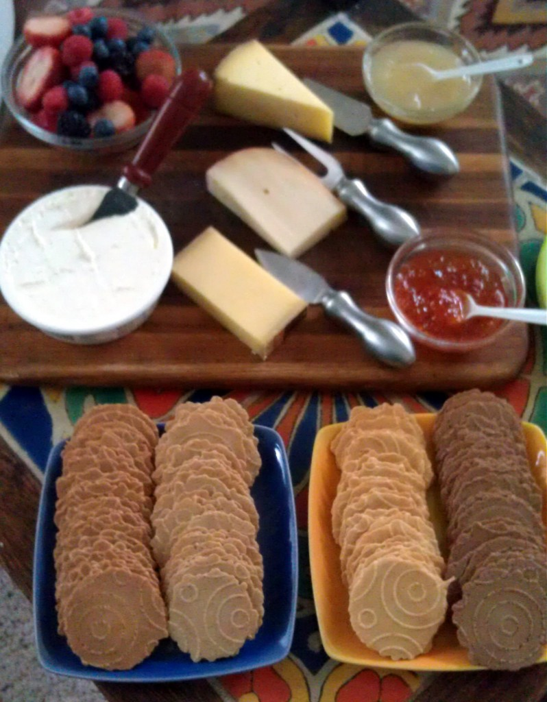 34 degree sweet crisp cheese board