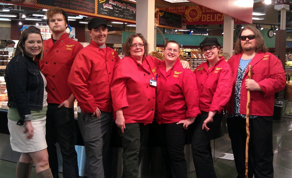 The Lady with the Hawthorne Red Jacket Certified Cheesemongers!!!